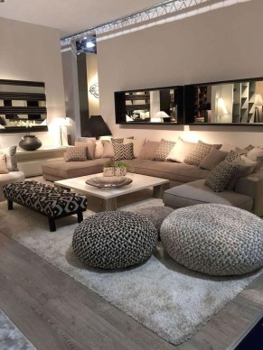 Extraordinary Luxury Living Room Ideas Which Abound With Glamour And Refinement40