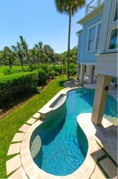 Luxury And Elegant Backyard Pool07