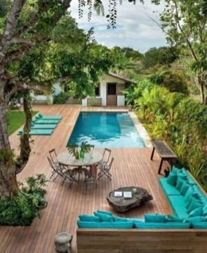 Luxury And Elegant Backyard Pool26