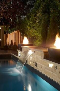 Luxury And Elegant Backyard Pool36