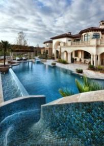 Luxury And Elegant Backyard Pool39