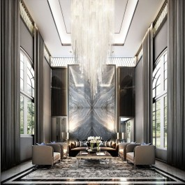 Luxury And Elegant Living Room Design12
