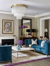 Luxury And Elegant Living Room Design29