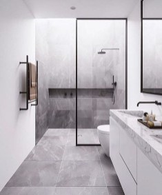 Minimalist Modern Bathroom Designs For Your Home13
