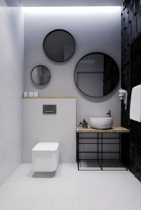 Minimalist Modern Bathroom Designs For Your Home14