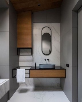 Minimalist Modern Bathroom Designs For Your Home15