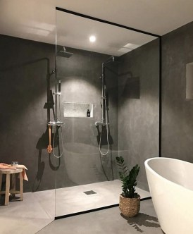 Minimalist Modern Bathroom Designs For Your Home16