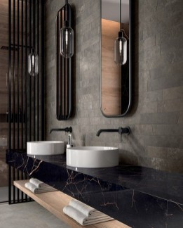 Minimalist Modern Bathroom Designs For Your Home19