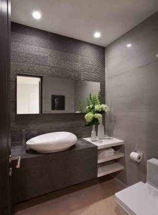 Minimalist Modern Bathroom Designs For Your Home36