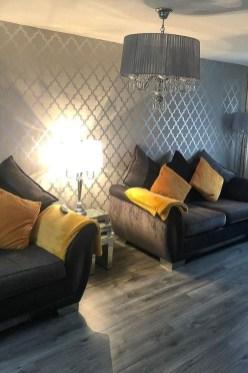 Modern Wallpaper Decoration For Living Room Ideas15