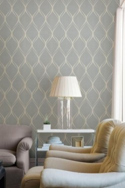 Modern Wallpaper Decoration For Living Room Ideas16
