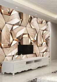 Modern Wallpaper Decoration For Living Room Ideas23