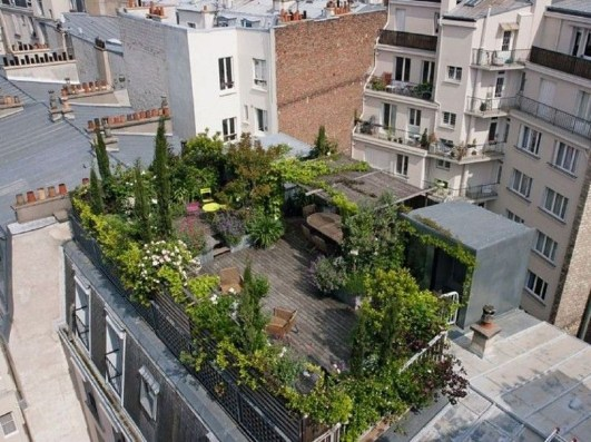 Most Popular And Beautiful Rooftop Garden07
