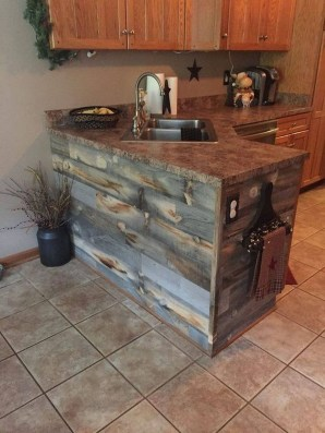 Warm Cozy Rustic Kitchen Designs For Your Cabin17