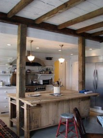 Warm Cozy Rustic Kitchen Designs For Your Cabin28