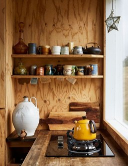 Warm Cozy Rustic Kitchen Designs For Your Cabin36