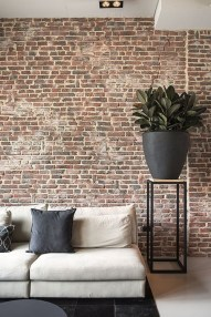 Awesome Brick Expose For Living Room03