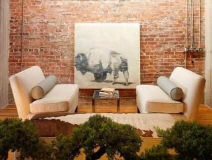 Awesome Brick Expose For Living Room23
