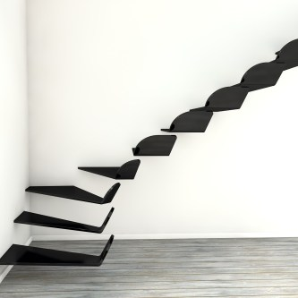 Awesome Flying Stairs Ideas36