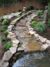 Awesome Garden Waterfall Ideas01