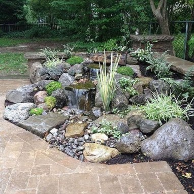 Awesome Garden Waterfall Ideas09