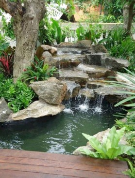 Awesome Garden Waterfall Ideas15