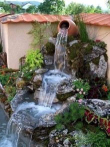 Awesome Garden Waterfall Ideas17