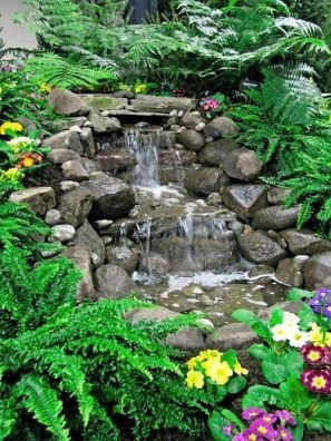 Awesome Garden Waterfall Ideas26