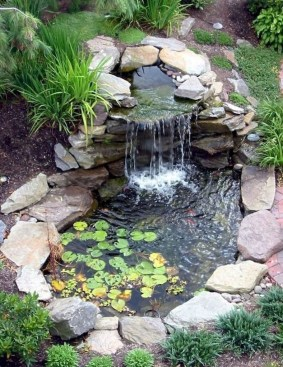 Awesome Garden Waterfall Ideas28