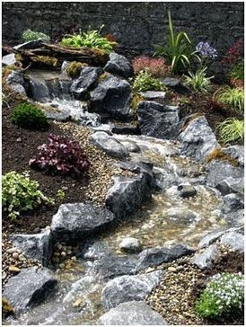 Awesome Garden Waterfall Ideas30