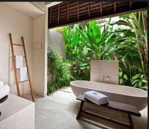 Awesome Outdoor Bathroom Ideas37