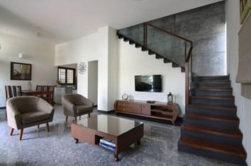 Elegant Granite Floor For Living Room14