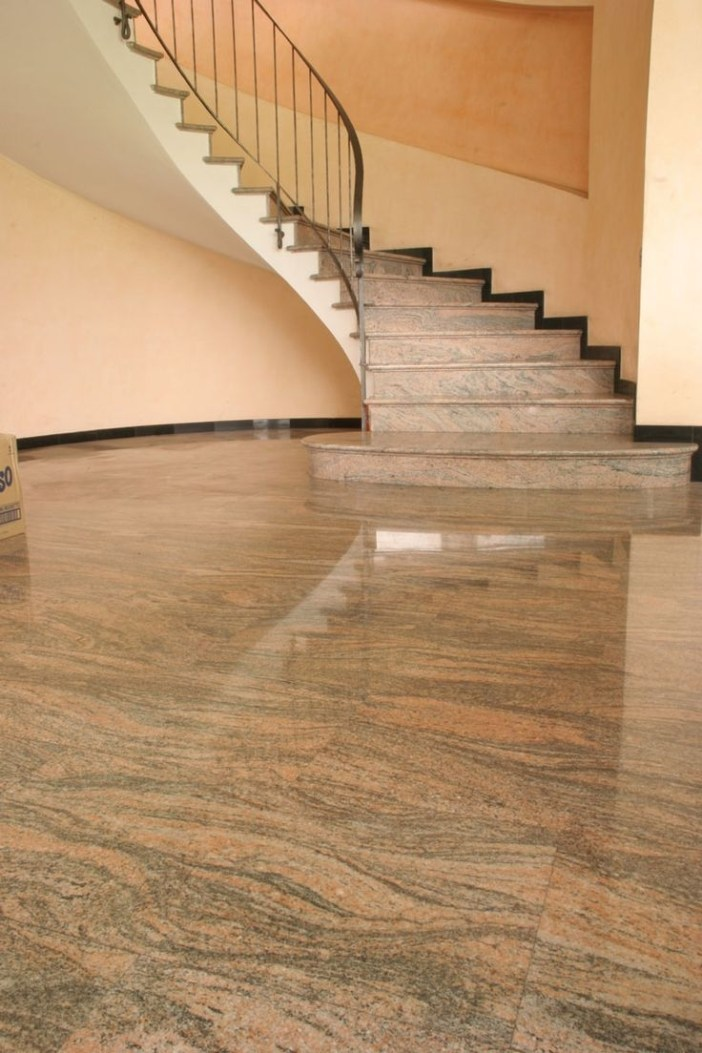 Elegant Granite Floor For Living Room22