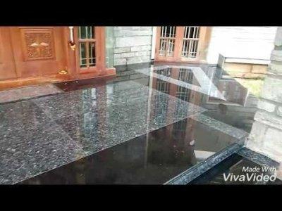 Elegant Granite Floor For Living Room31