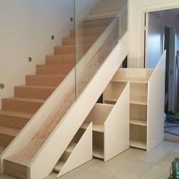 Extraordinary Stairs Storage Ideas09