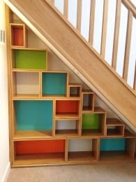 Extraordinary Stairs Storage Ideas17