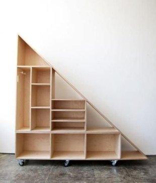 Extraordinary Stairs Storage Ideas22
