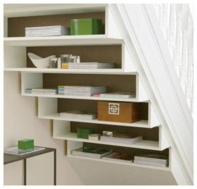 Extraordinary Stairs Storage Ideas25