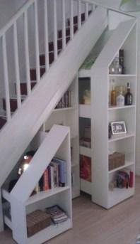 Extraordinary Stairs Storage Ideas32