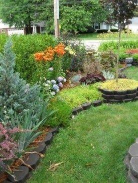 Fresh Ideas Frontyard Garden39