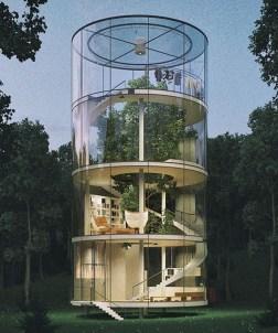 Luxury Glasses House Ideas10