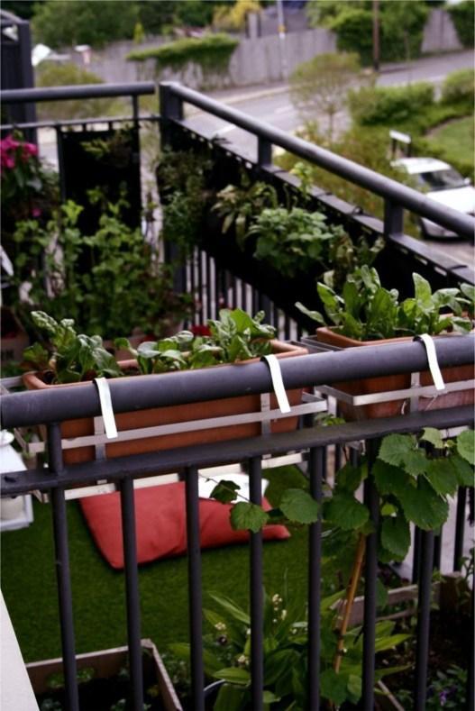Cozy And Beautiful Green Balcony Ideas47