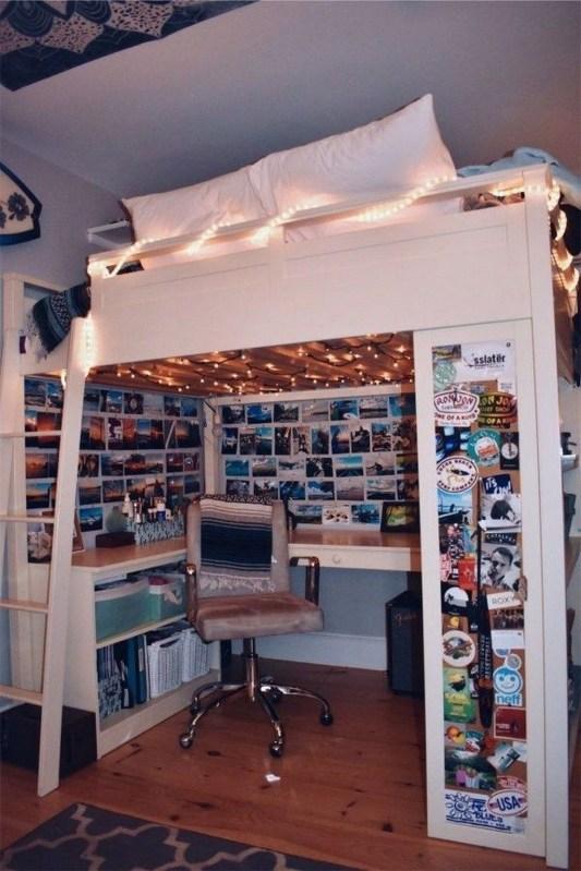 Efficient Dorm Room Organization Ideas38