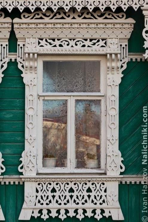 Elegant Carved Wood Window Ideas42