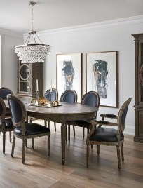 Luxurious Black And Gold Dining Room Ideas For Inspiration03