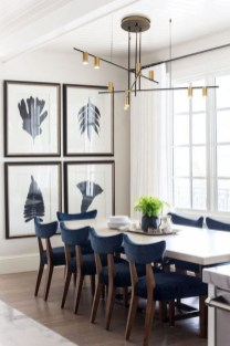 Luxurious Black And Gold Dining Room Ideas For Inspiration12