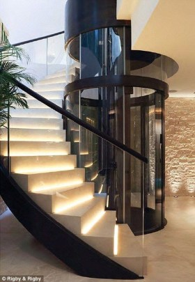 Luxury Glass Stairs Ideas25