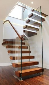 Luxury Glass Stairs Ideas38