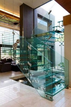 Luxury Glass Stairs Ideas42