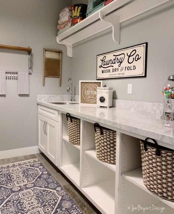 Best Laundry Room Organization36
